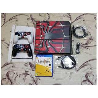 (只有這台便宜賣)雙手把PS4 500GB 台灣原廠公司貨-多樣遊戲+贈品