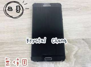 Samsung Note3 空機 黑色 可面交 八成新 二手 Note3手機 三星 三星Note3空機 Note3空機