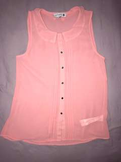Cotton On Pink Corporate Top