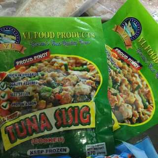 Frozen tuna products from Gensan