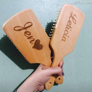 Personalized Wooden Brush