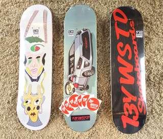 13ywstd skateboard