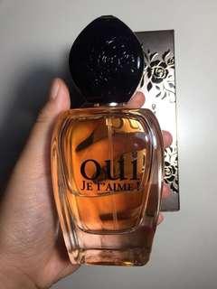 Oui Je T'aime Perfume 100 ml (REPRICE)
