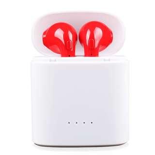 I7s tws 無線藍牙耳機紅色 $120