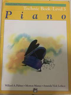 Piano technic book 3