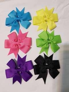 pinwheel baby clips