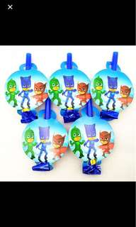 PJ MASKS Party Blowouts (Pack of 5)