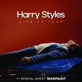 Lower Box A ticket (2) Harry Styles Concert in Manila
