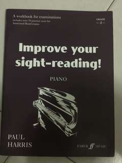 Piano - improve your sight-reading