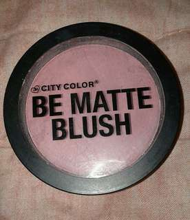 City Color Be Matte Blush