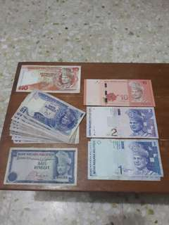 Bundle Sale! Some Malaysia Ringgit New & Old Currency