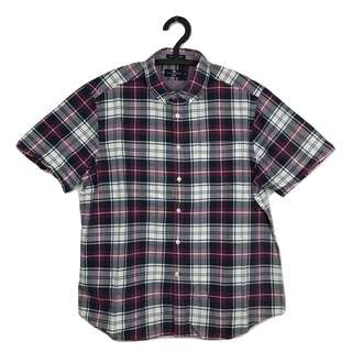 第二件8折🎉Blue Harbour格紋短袖襯衫 古癮 古著 復古 二手