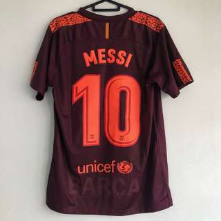 Nike Barcelona Messi 10 soccer jersey