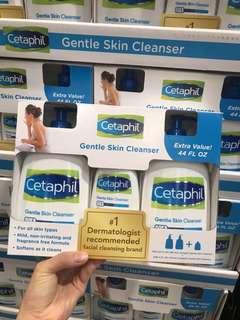 Cetaphil 舒特膚 (💥超抵優惠裝)       Gentle Skin Cleanser溫和潔膚液