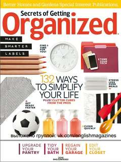 Secrets of Getting Organized Ebook
