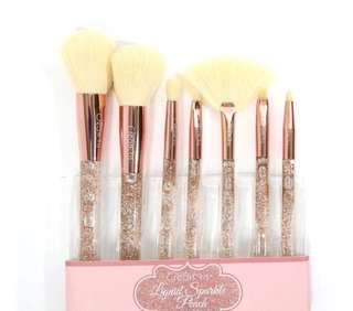 BEAUTY CREATIONS PEACH Liquid Sparkle Brush Set