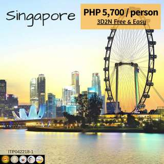 Singapore Free & Easy (3D2N Tour Package)