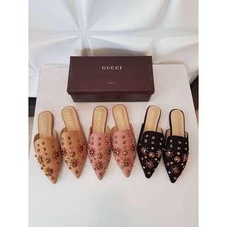 Gucci Slop Sandals
