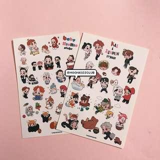 Xiumin Kai Sticker