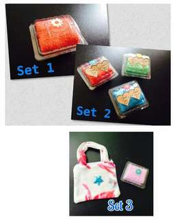 set mini towel doorgift