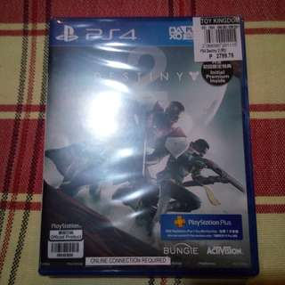 PS4 Game Destiny 2 sealed sell or trade to gunpla botlg