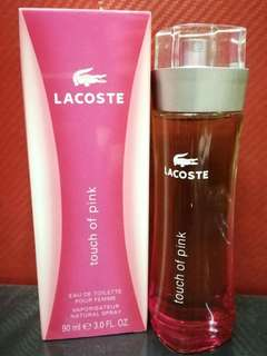Lacoste Touch Of Pink 90 ml