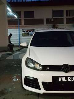 Vw gold 1.4 tsi coverti r bodykit