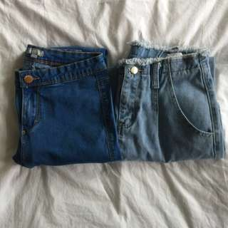denim jeans // high waisted & skinny jeans