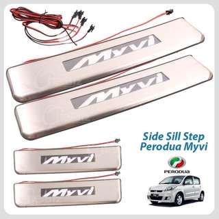 Perodua Myvi 2005-2012 LED Side Step Door Step