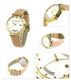 Authentic Kate Spade Metro White Mother Ladies Watch
