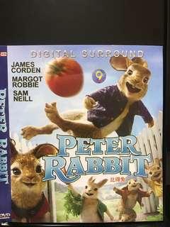 Dvd English movie, Peter Rabbit