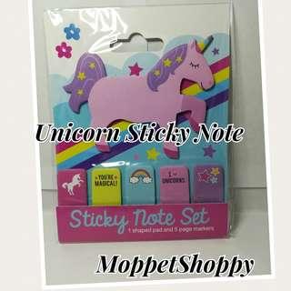 Unicorn Sticky Note