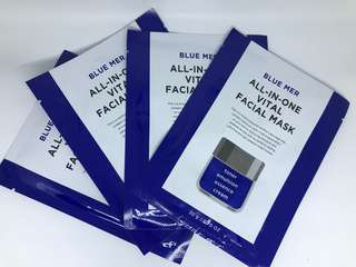 Blue Mer all in one vital facial mask