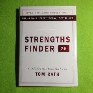 Strengths Finder 2.0 by Tom Rath (Hard Bound)