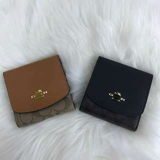 AUTHENTIC COACH  SIGNATURE SMALL WALLET