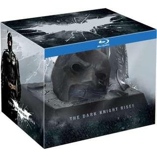 Batman the Dark Knight Rises limited Edition broken cowl boxset | No Bluray