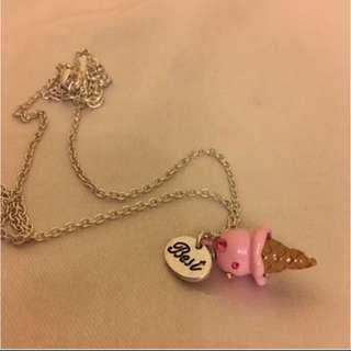 Cute Cone Pendant Necklace