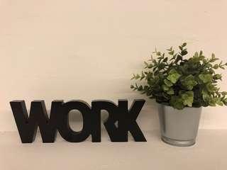 Work Decor