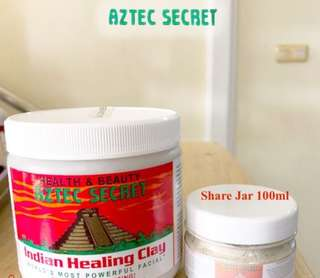 AZTEC SECRET INDIAN HEALING CLAY - SHARE JAR 100 GRAM