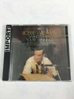 Robbie Williams - Swing When You're Winning (Music CD)