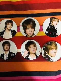 NEWS Calender cards 2009 johnny's entertainment