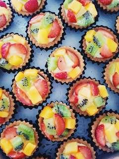 (25 pcs) Halal Fruit Tarts
