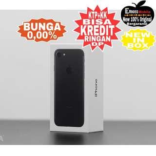 Kredit Low Dp 2jt IPhone 7 128GB Black(REP) Original ditoko ktp+kk wa;081905288895
