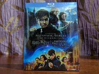 Harry Potter & Fantastic Beast: 9 Film Collection Blu-ray
