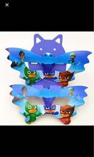 PJ MASKS Party Masks (Pack of 10)