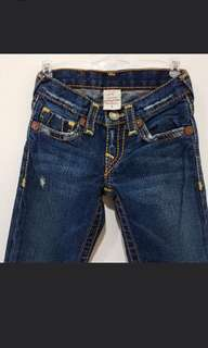 True Religion Denim Distressed Jeans