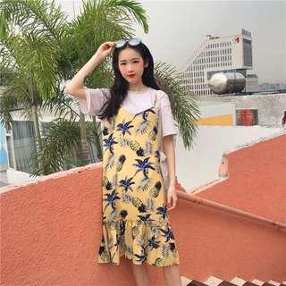Pineapple Prints Dress