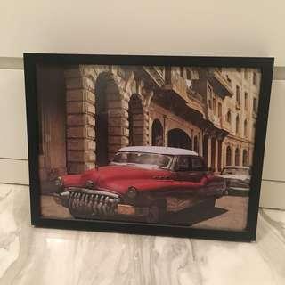 Tin Plate framed Wall Art