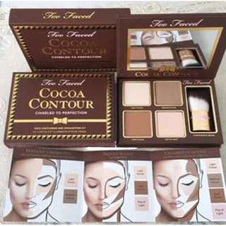 NEW Too Faced Cocoa Contour Kit
