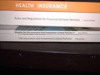 Insurance textbooks